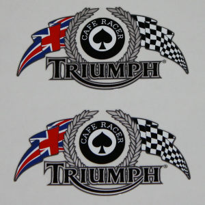 Triumph Cafe Racer Sticker's