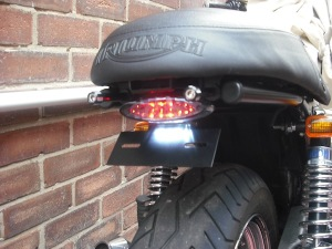 Led Eliminator  from Triumph Custom Parts