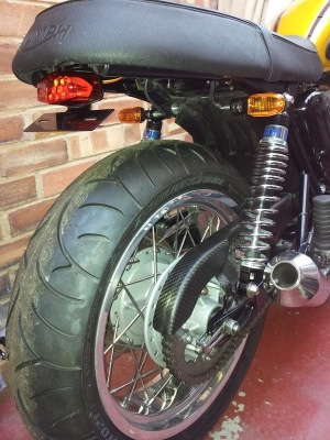 Lucas Style Eliminator from Triumph Custom Parts
