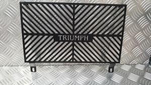 1050 Tiger Radiator Guard from Triumph Custom Parts