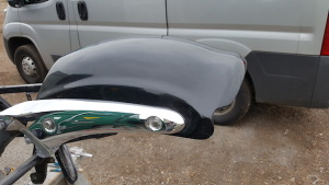 Rocket 3 Rear Raised Edge Fender